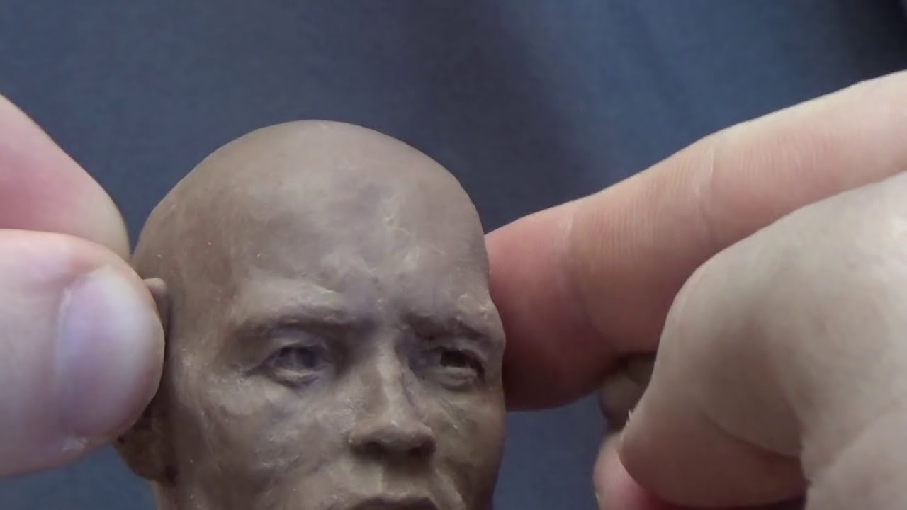time lapse sculpture tutorial arnold schwarzenegger