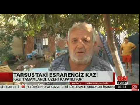 Tarsustaki esrarengiz kazı tamamlandı kapatıldı