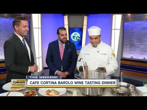 Cafe Cortina Barolo Wine Tasting Dinner