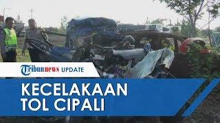 Kronologi Kecelakaan Maut di Tol Cipali yang Tewaskan 6 Orang, Mobil Remuk Diduga Sopir Tak Fokus