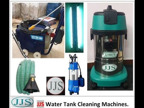 Water Tank Cleaning Machines