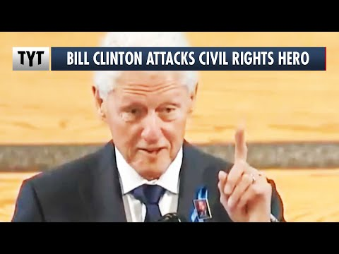 Bill Clinton Attacks Civil Rights Icon During John Lewis Eulogy