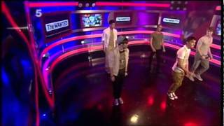 The Wanted - Glad You Came Live On OK! TV