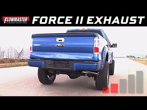 2009-14 Ford F-150 4.6L, 5.4L - Flowmaster Force II Cat-back Exhaust System 817509