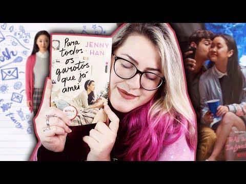 PARA TODOS OS GAROTOS QUE JÁ AMEI ? | Livro vs. Filme