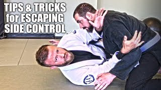 Tips And Tricks For Escaping Side Control   Jiu Jitsu Escapes