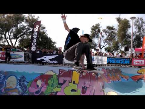 Nolan Munroe at the Sosh Freestyle Cup