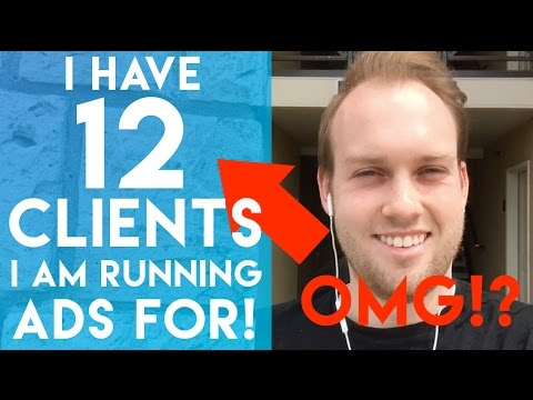 THIS IS INSANE! 12 Social Media Marketing Clients I Am Running Ads For!!