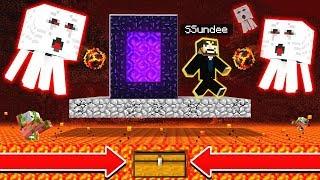 DERP SSUNDEE STUCK in THE NETHER (Minecraft)