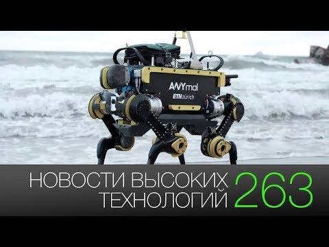 Новости высоких технологий 263: новая миссия на Луну и умные роботы