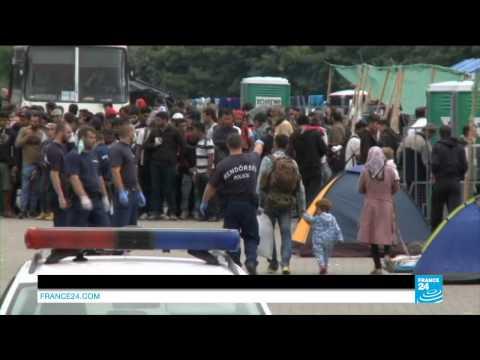 """Hongrie : Les clandestins face au """"rideau de fer"""""""