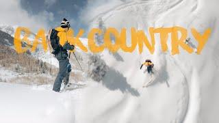 Cinematic Backcountry Skiing- Fpv Cinematic