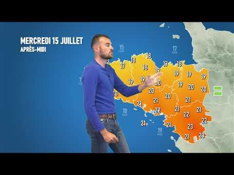 Illustration de l'actualité La météo pour votre mercredi 15 juillet 2020