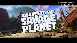 Journey To The Savage Planet Trailer (The Game Awards 2018)