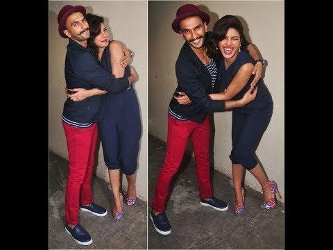 रणवीर सिंह ने प्रियंका चोपड़ा को दिया अनोखा जवाब | Ranveer Singh with Priyanka chopra | Filmy gossip.