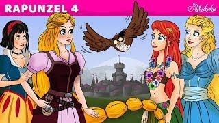 Rapunzel 4 - Prensesler Buluşması - Adisebaba Masal Çizgi Film - Turkish Fairy Tales