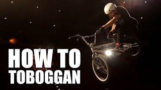 How to toboggan bmx (Как сделать тобогган на BMX, MTB) | Школа BMX Online #22