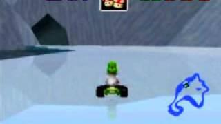 """Myles ~ Mario Kart 64 - Sherbet Land 1lap 32""""07"""