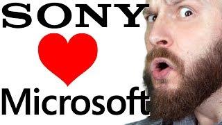 ИгроСториз: Sony + Microsoft = братья навек. Чего ждать от сотрудничества и так ли это важно