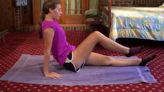 Core work for racewalkers