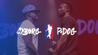 CYBORG vs P.DOG | I LOVE THIS DANCE ALL STAR GAME 2016