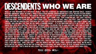 """Descendents - """"Who We Are"""""""