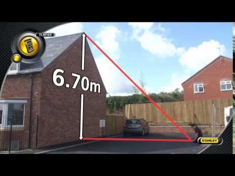STANLEY Laser-Entfernungsmesser TLM165 - STHT1-77139 Distanzmesser