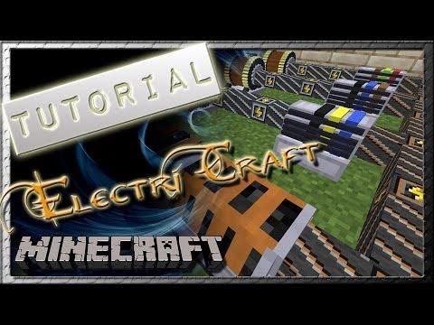 Minecraft Mod Tutorial - ElectriCraft - (En Español)
