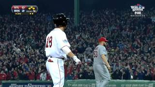 2013/10/30 Red Sox's three-run third