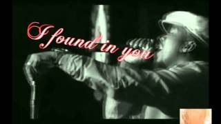 Anthony Hamilton love i found (solo version) video + lyrics