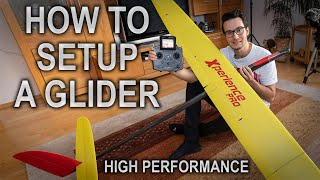 HOW TO SETUP A HIGH PERFORMANCE GLIDER - Xperience Pro F5J - Episode 5