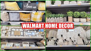 WALMART HOME DECOR SHOP WITH ME 2021 NEW FINDS