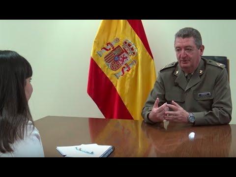 Entrevista al responsable de la Subdirección General de Sistemas Terrestres del INTA, GD Manfredo Monforte