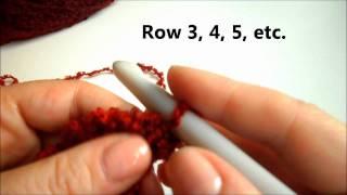 DIY Crochet Ruffle Scarf