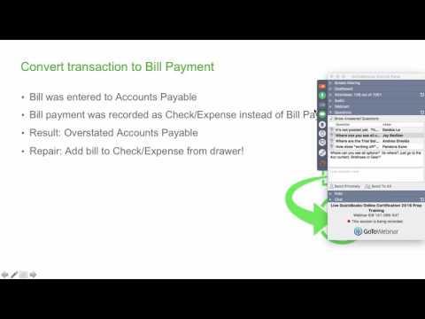 QuickBooks Online - Certification Test Preparation - Module 5, Part 1 ...