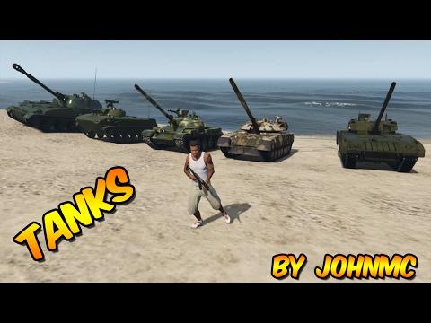 Tanks by JohnMc
