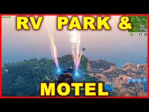 Video Fortnite Rv Park Motel Location Search Chests Ammo