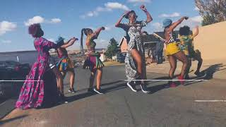 "Ciara Dancing To ""Freak Me"" Ft Tekno In Soweto"