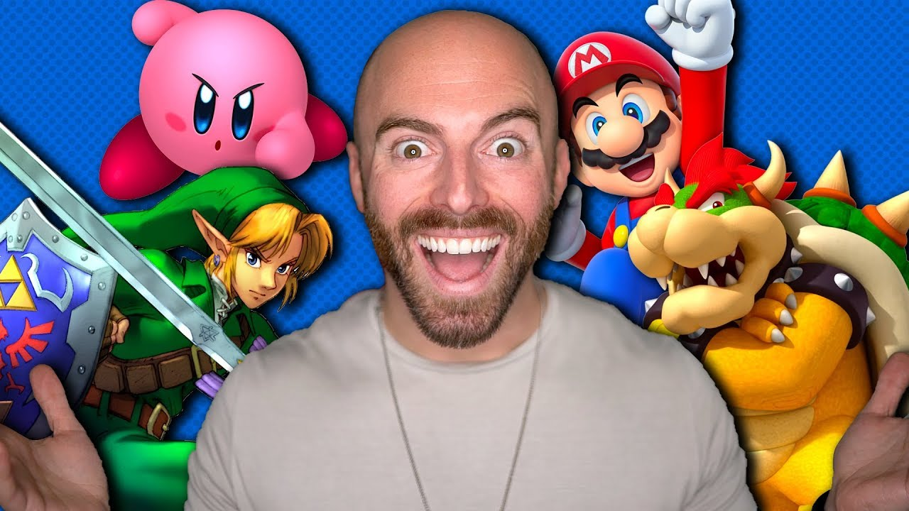 The GREATEST Nintendo Characters of All Time! thumbnail