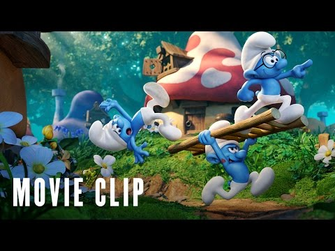 Smurfs: The Lost Village Clip 'Glowbunnies'
