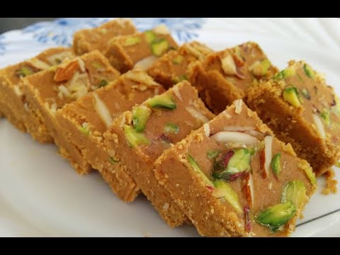 12 मिनट में बनायें बेसन की बर्फी| Besan Burfi recipe| Indian sweet|Shivaratri special sweet