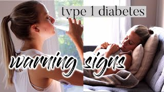 TYPE 1 DIABETES WARNING SIGNS // don't ignore these!