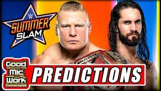 WWE SummerSlam 2019 PREDICTIONS