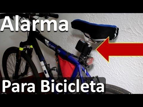 Alarma para Bicicleta con Código de Seguridad y Sensor Movimiento