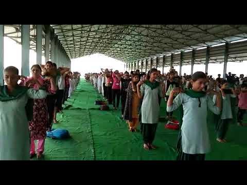 International Yoga Day Rehearsal on 20.06.2019
