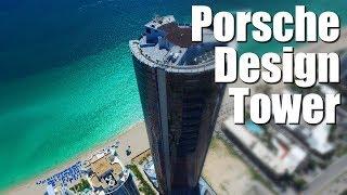 Porsche Design Tower Майами. Гараж на 11 машин в квартире 57 этаж.