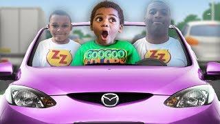 GOO GOO GAGA MAGICALLY TURN ZZ KID INTO A MAN! LEARN HOW TO SPELL CAR WITH GOO GOO COLORS