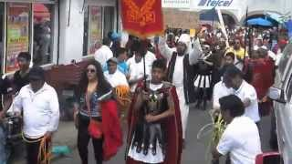 preview picture of video 'SAN MATEO ATENCO 2015 SEMANA SANTA REPRESENTACION EN VIVO DE LA VIDA, PASION Y MUERTE DE JESUCRISTO'