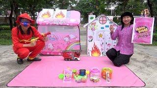 Trò Chơi Lính Cứu Hỏa Chữa Cháy ❤ BIBI TV ❤