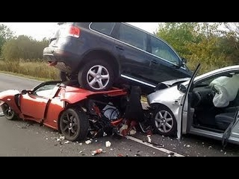 Ferrari Luxury Cars Accident || Very Shocking Video